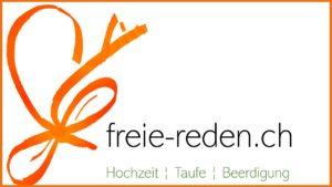 Logo mit Text und Rahmen